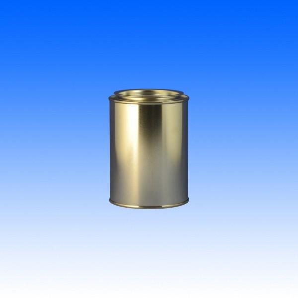 Patentdeckeldose + Deckel, 500 ml