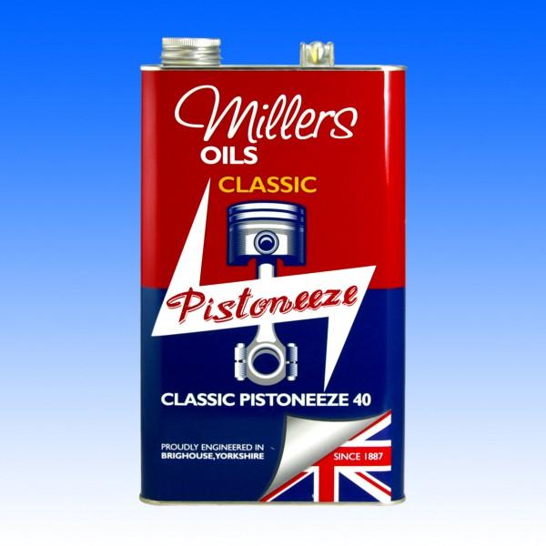 Millers Classic Pistoneeze 40 5 Liter