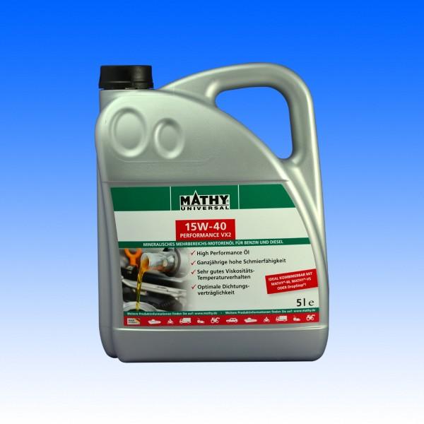 Mathy Basis-Öl 15W40, 5 Liter