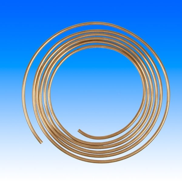 Bremsleitung Kupfer-Nickel, 6.35mm, pro 10cm