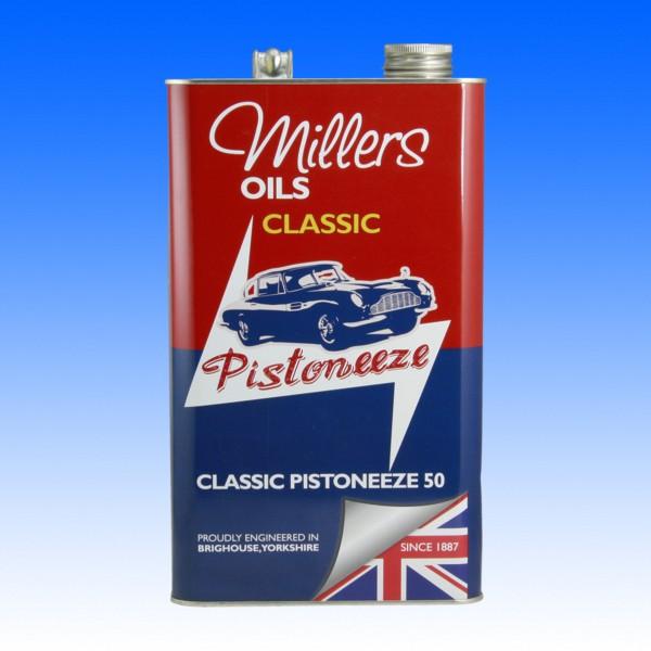 Millers Classic Pistoneeze 50, 5 Liter
