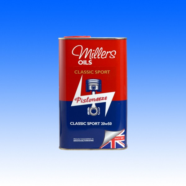Millers Classic Sport Pistoneeze 20W50 1Liter