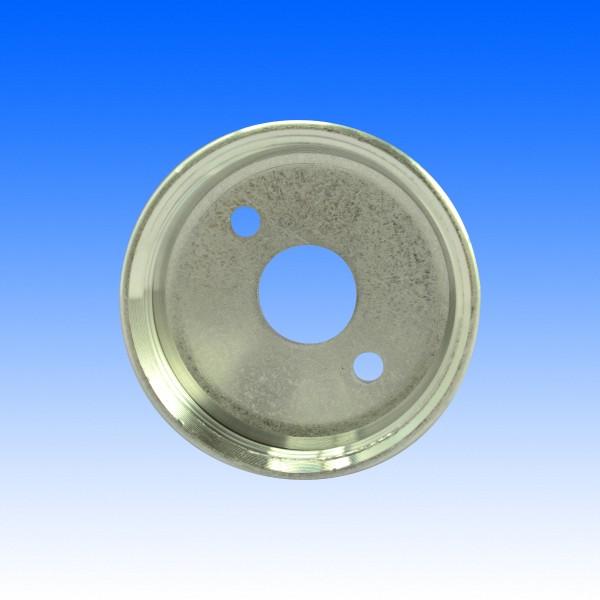 Ersatzteil LAG22 - Alu-Deckel Innengewinde mit drei Bohrungen für Liternormdosen