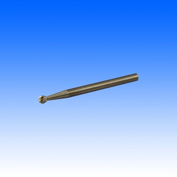 Hartmetallfräser, 3 mm Schaft, Kugelkopf