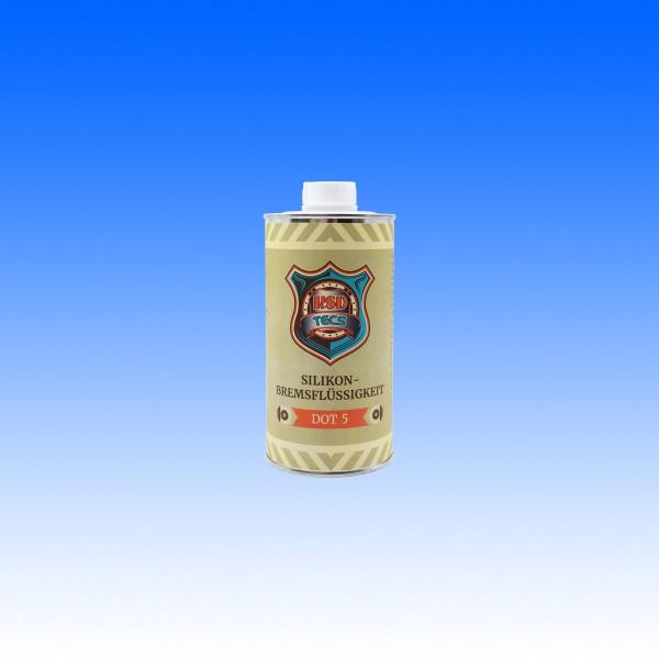 Silikon-Bremsflüssigkeit DOT5, 500 ml