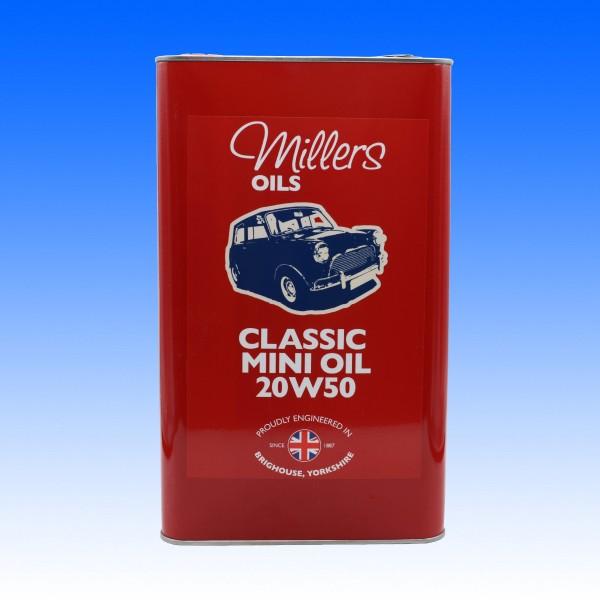 Millers Classic Mini Pistoneeze 20W50, 5 Liter