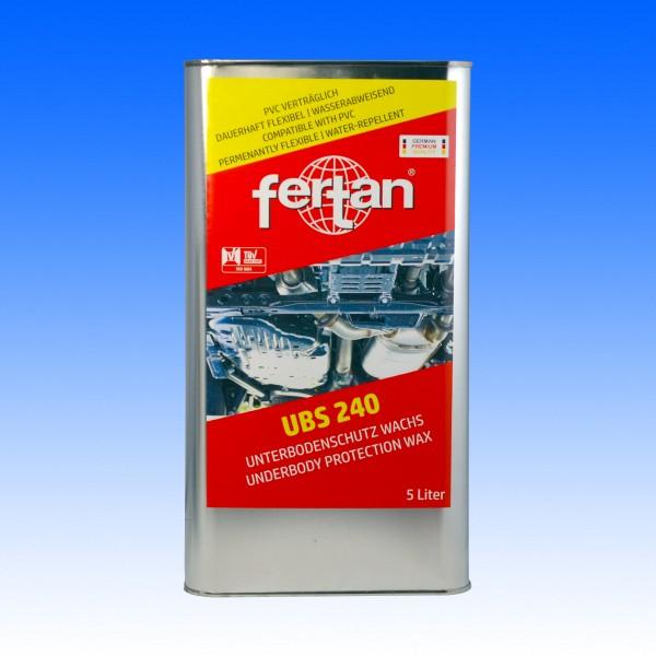 UBS 240 braun-transparent Kanister, 5 Liter