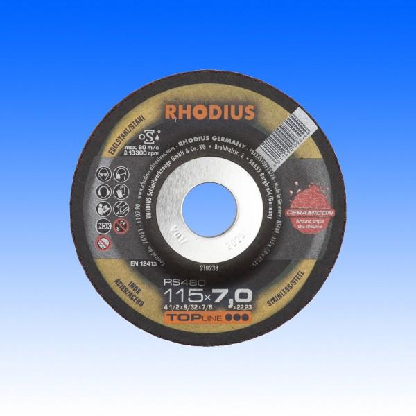 Schruppscheibe Ceramicon RS480 115x7.0