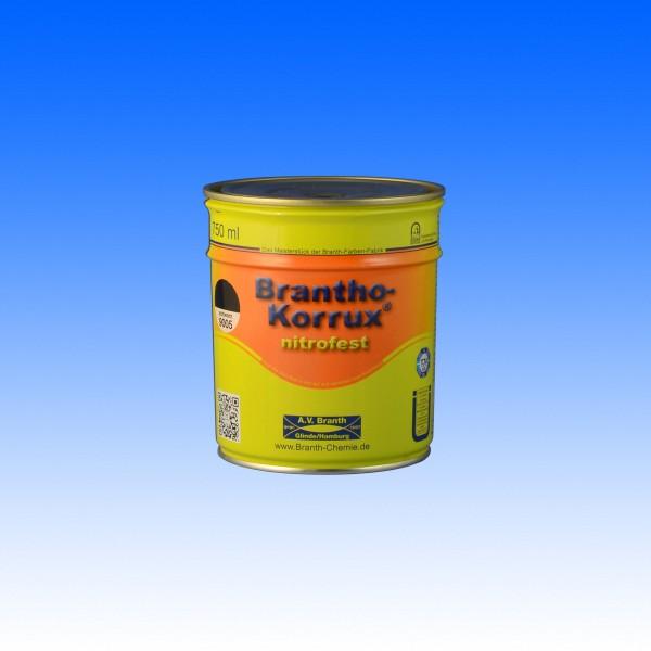 """Brantho Korrux """"nitrofest"""", RAL 9005 schwarz, 750 ml"""