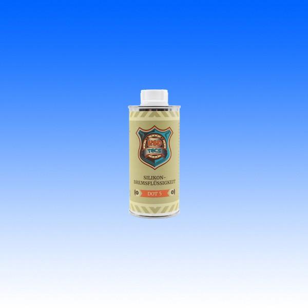 Silikon-Bremsflüssigkeit DOT5, 250 ml