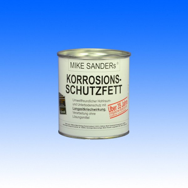 Mike Sanders Korrosionsschutzfett 750g Korrosionsschutz Depot