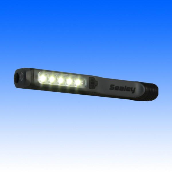 Stift-Arbeitsleuchte mit 5+1 LEDs