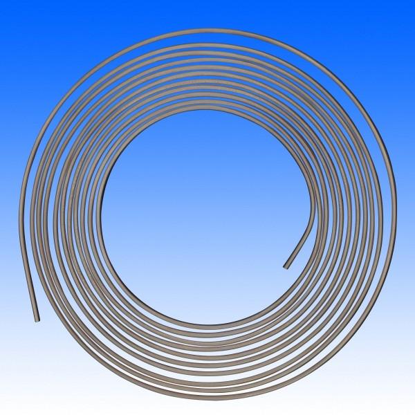 Bremsleitung Kupfer-Nickel 4.75 mm, pro 10 cm