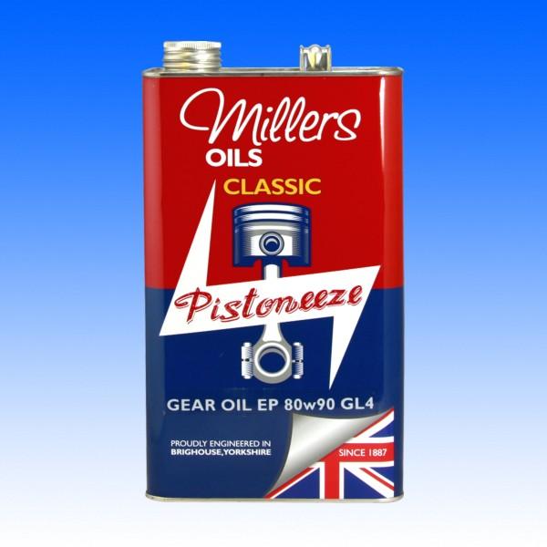 Millers Classic SAE 80W/90 EP, Getriebeöl GL4, 5 Liter