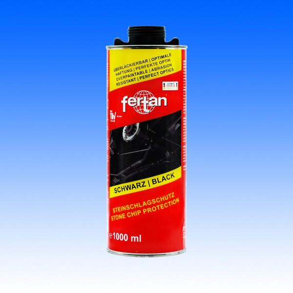 Fertan Karosserie- und Steinschlagschutz schwarz Normdose, 1 Liter