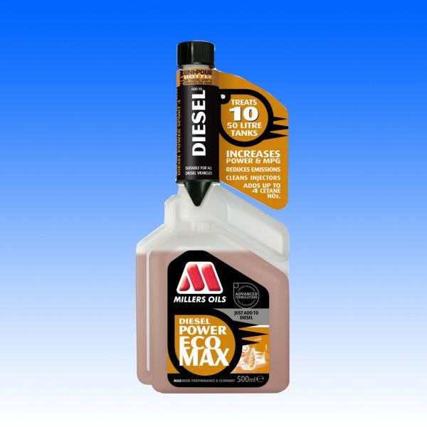 Millers Ecomax Diesel Power Additiv, 500 ml