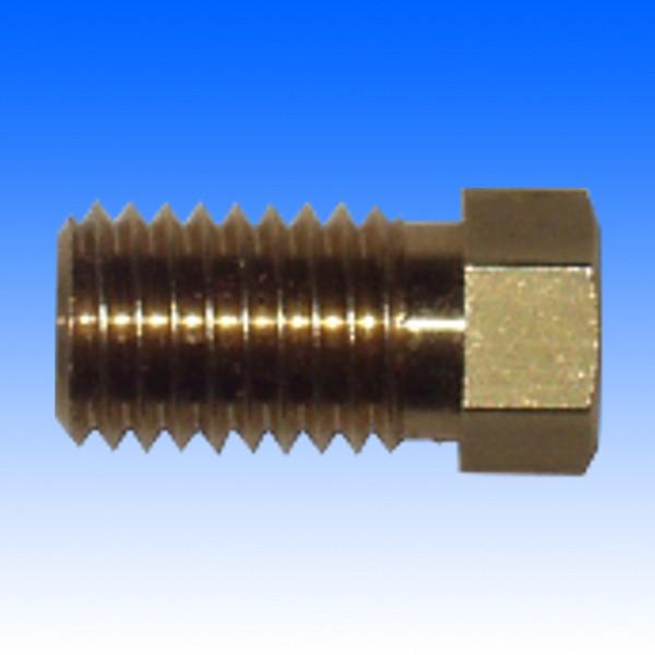Messing-Überwurfschraube, M9x1.25, 4.5 mm