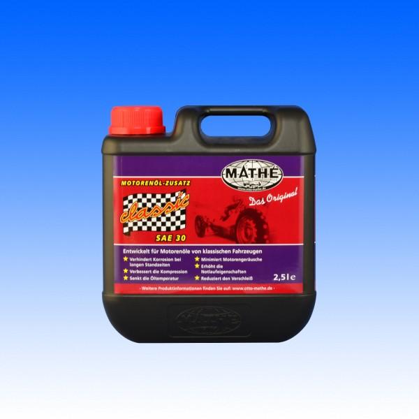 Mathé Classic Oldtimer Additiv SAE 30, 2.5 Liter