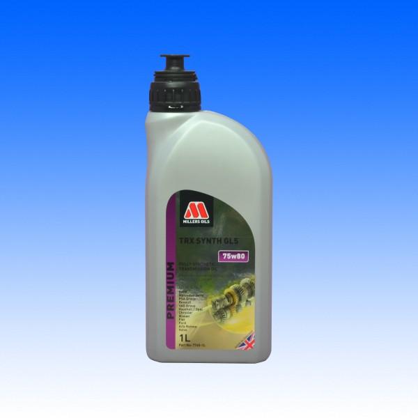 Millers TRX Synth 75W/80 GL5, 1 Liter