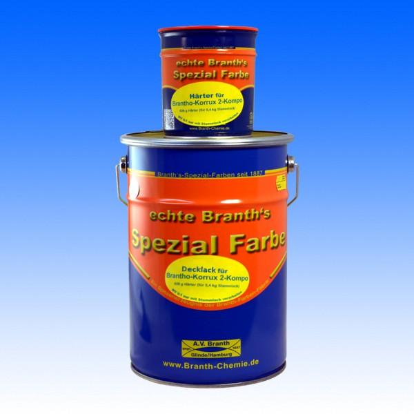 Brantho Korrux 2-Kompo, RAL 9005 schwarz, 6 kg