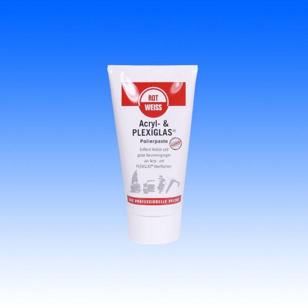 ROTWEISS Acryl- + Plexiglas Polierpaste, 150 ml