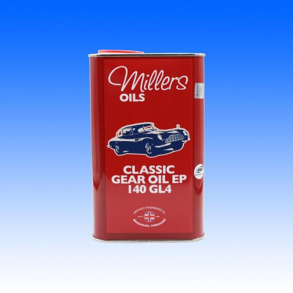 Millers Classic EP 140 GL4 Getriebeöl, Mineralisch, 1 Liter