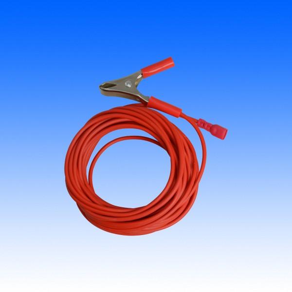 Verbindungskabel + Pol/E-Zinc-Gerät