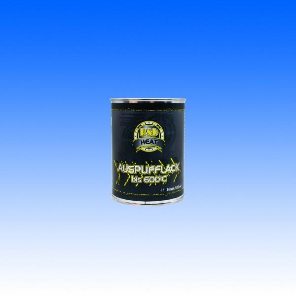 Auspufflack schwarz, 500 ml