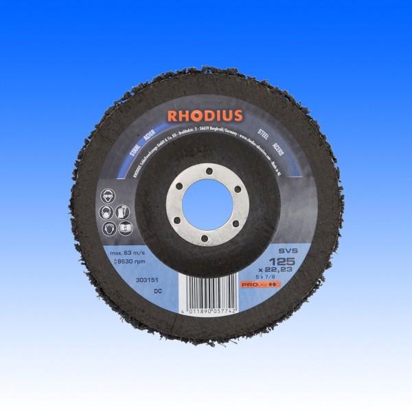 Rhodius SVS Vliesreinigungsscheibe, 125 mm