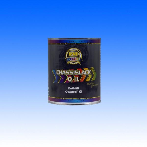 Chassislack O.H. schwarz halbglanz, 1 Liter