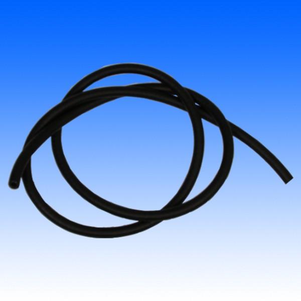 Benzinschlauch, schwarz 4,5mm Innendurchmesser, 10mm außen, 1m