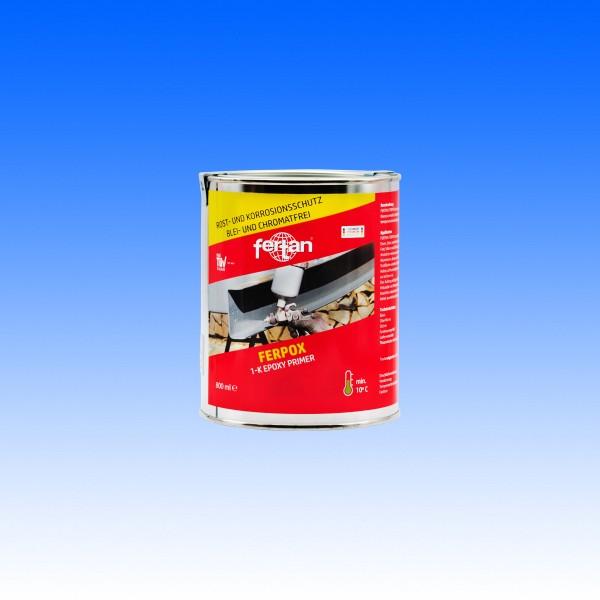 Ferpox 1-K Epoxy Primer, 800 ml