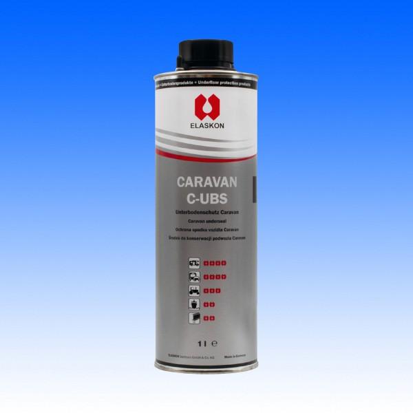 Elaskon Caravan C-UBS schwarz 1 Liter Normflasche