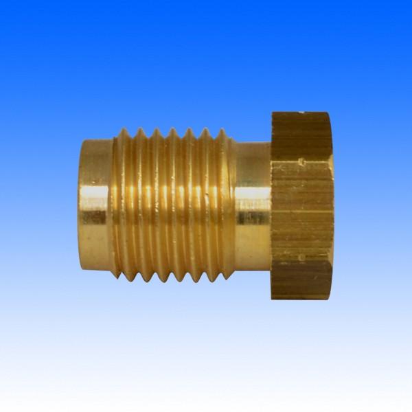 Messing-Überwurfschraube M12x1.25, 19.5 mm