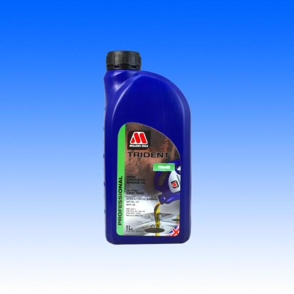 Millers Trident SAE 10W40, Youngtimeröl, 1 Liter