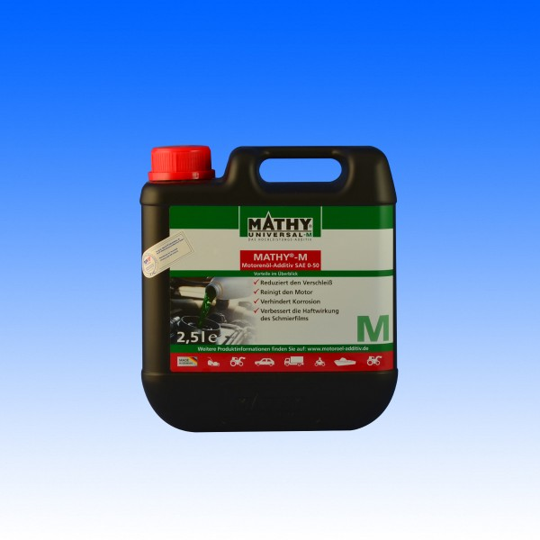 Mathy Universal M Additiv SAE 0-60, 2.5 Liter
