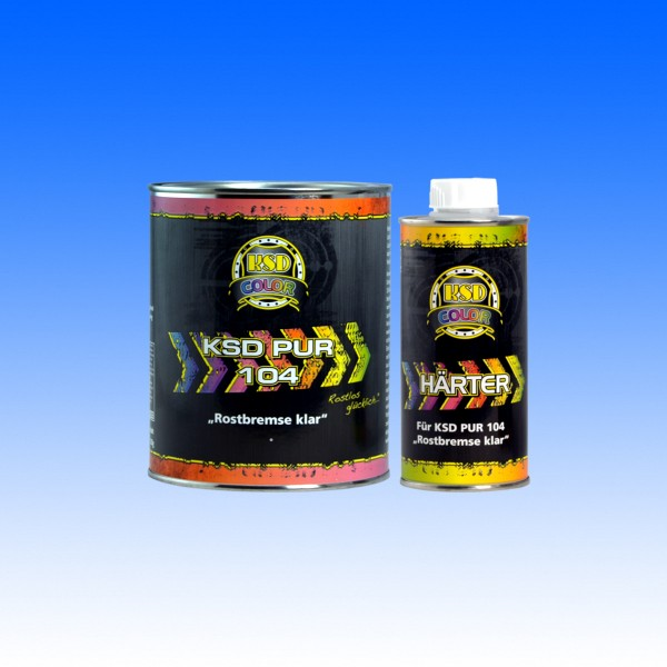 PUR104 Rostbremse klar, 700 g