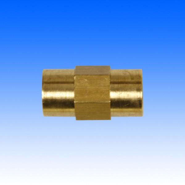 Zwischenstück, Bördel, 2x 3/8 - 24UNF, SW 14, 24.0 mm