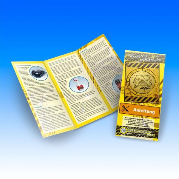 Fertan-Broschüre mit Verarbeitungshinweisen