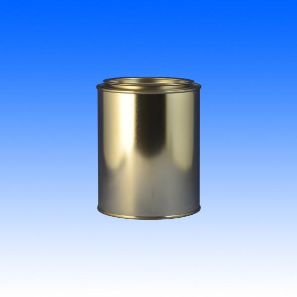 Patentdeckeldose + Deckel, 1 Liter
