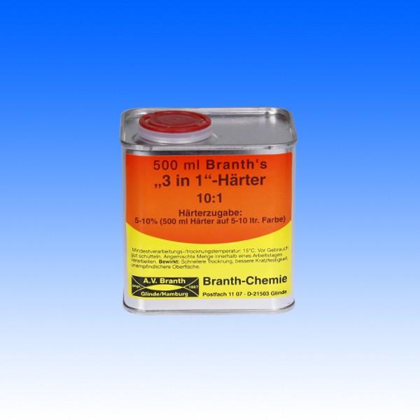 3in1 Härter-Konzentrat, 500ml - nur im Ausnahmefall