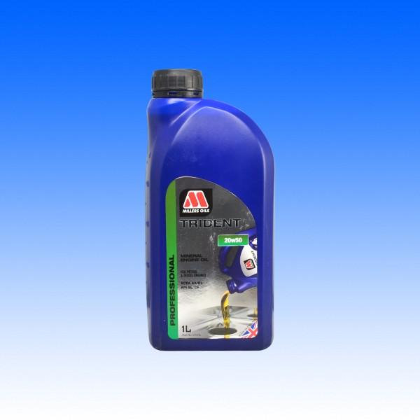 Millers Trident SAE 20W50, Youngtimeröl, 1 Liter