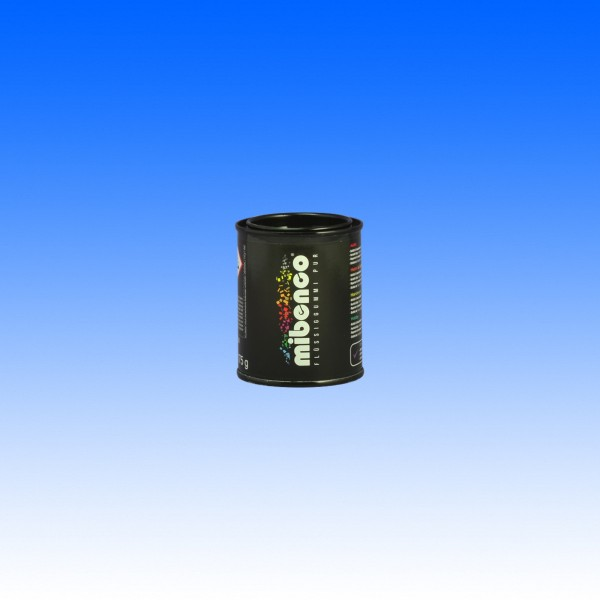 Mibenco Flüssiggummi schwarz matt 175g (ca. 200ml)