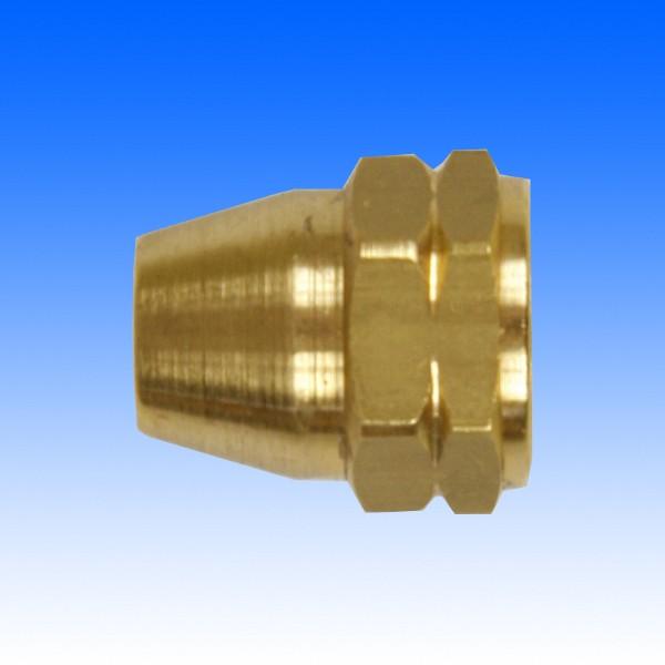 Messing-Überwurfmutter, M12x1, 19.5 mm