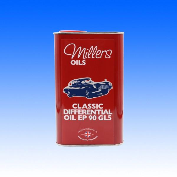 Millers Classic SAE 90 Hypoid Differenzialöl GL5, 1 Liter