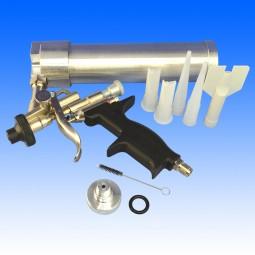 Kartuschenpistole für spritzbare Nahtabdichtung