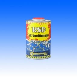 Verdünnung für KSDunni, KSDklassika & KSDklar, 1 Liter
