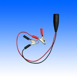 Adapterkabel 10A von Fritec Normkupplung auf Krokodilklemmen