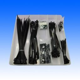 Kabelbinder-Sortiment 210-teilig