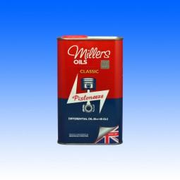 Millers Classic SAE 85w/140 Hypoid Differenzialöl, GL5, 1 Liter